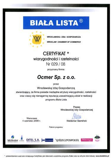 Biała Lista - Program Promocji Rzetelnego Biznesu