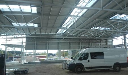 Logistic hall - Poland - SCHENKER Sp. z o.o.