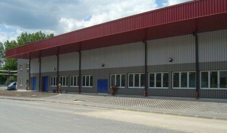 Hala magazynowa - łódzkie - BRENNTAG POLSKA