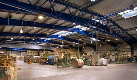 hala produkcyjna, kujawsko-pomorskie, COREX