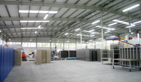 Production hall - wielkopolskie - PROMAG-MS Sp. z o.o.