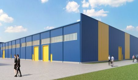 Production hall and warehouse- Poland - Corvus Sp. zo.o.