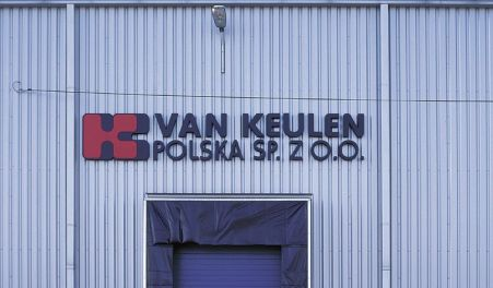 Hala produkcyjno-magazynowa - małopolskie - VAN KEULEN