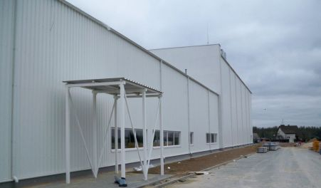 Production hall and warehouse - Poland - INTROGRAF