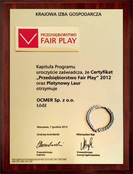 Fair Play 2012