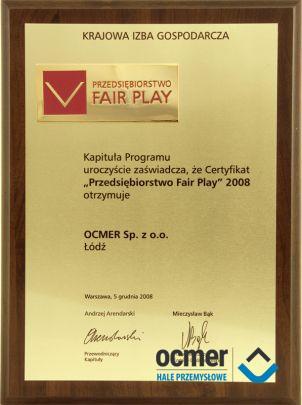 Business Fair Play 2008