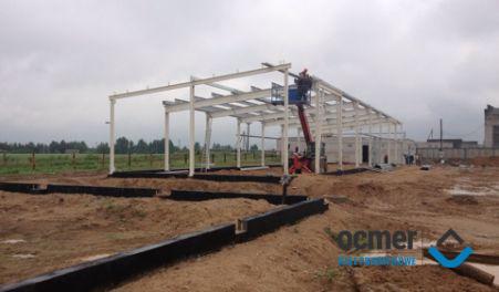 Production hall - Belarus - SKT UNIPLAST