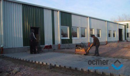 Hala produkcyjna - łódzkie - BREVE-TUFVASSONS