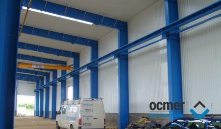 production hall, łódzkie, Libner