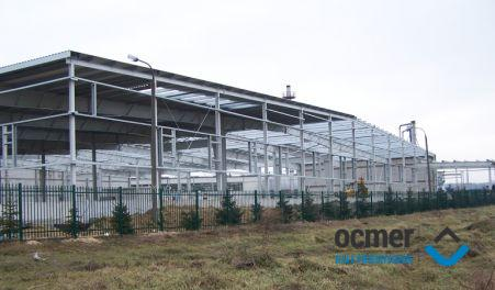 Production hall and warehouse - lubelskie - POL-SKONE Sp. z o.o.
