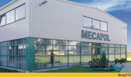 hala produkcyjna, wielkopolskie, Mecapol