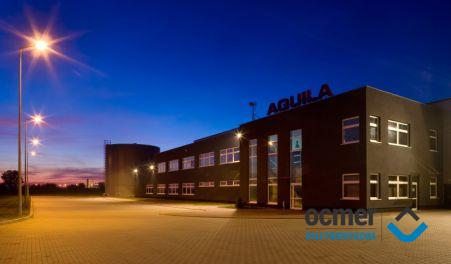 production hall and warehouse, łódzkie, Aquila