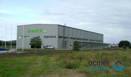 Production hall and warehouse - pomorskie - AMEX Marine