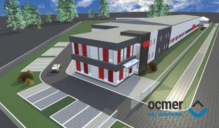 Production hall and warehouse - zachodnio-pomorskie - LUX DOM Sp. z o.o.