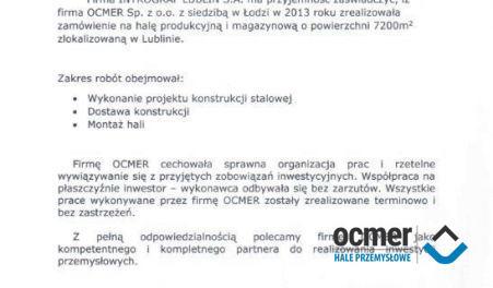 Czytaj więcej: INTROGRAF, Lublin, hala produkcyjno-magazynowa