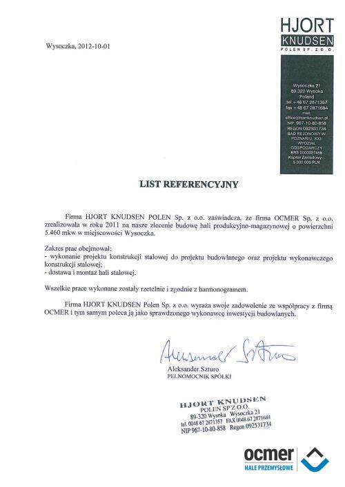Hala produkcyjno-magazynowa - łódzki - HJORT KNUDSEN POLEN