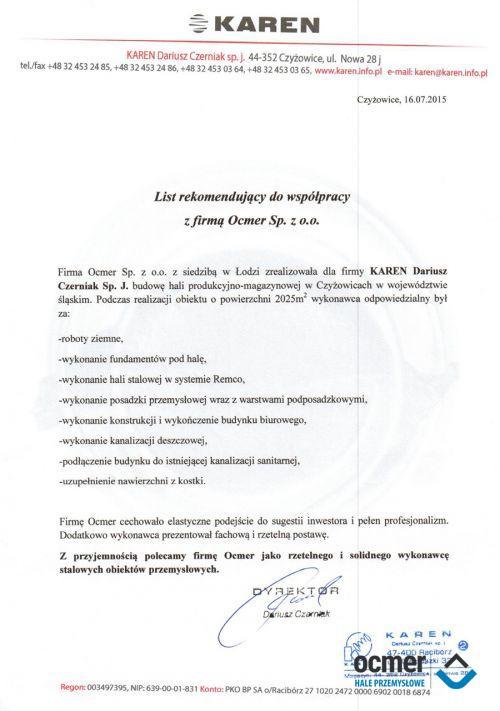 Hala produkcyjno-magazynowa - śląskie-  TEAM